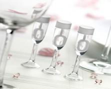 Bolle di Sapone Champagne Flutes (24 pezzi)