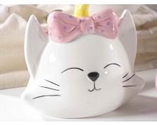 Candele in vasetto a gatto