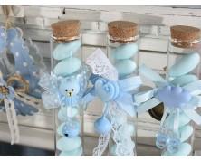 Fialetta per confetti battesimo