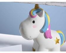Salvadanaio a unicorno