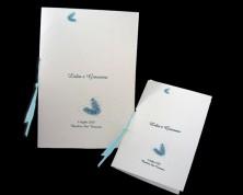 """Libretti liturgia""""Cuore blu"""""""
