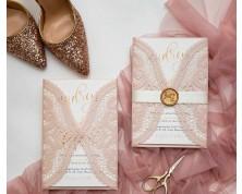 Partecipazioni Matrimonio Elegante - Laser Cut