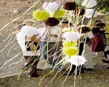Pom pom di Piume (Colori Assortiti)