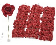 Rosellina chiudipacco rossa