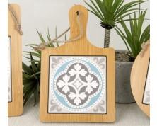 Tagliere in legno e ceramica Ragusa