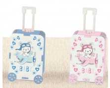 Portaconfetti legno TROLLEY BABY