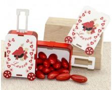 Portaconfetti legno TROLLEY Laurea