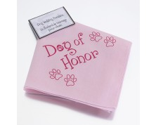 Dog of Honour Bandana
