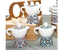 Zuccheriera moka ceramica ISCHIA