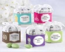 """Scatoline in latta """"Tesori inaspettati"""" - Design Compleanno e Feste"""