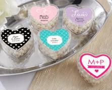 Portaconfetti personalizzato a Cuore - Design Matrimonio