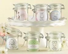 Barattoli di vetro personalizzati - Design Nascita e Battesimo