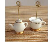 """Segnaposto """"Tea Time Whimsy' (set da 6)"""