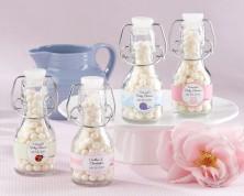 Bottigliette Personalizzate - Design Nascita e Battesimo