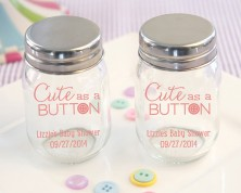 "Mini Contenitori ""Cute as a Button"" - Nascita e Battesimo"