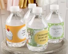 Etichette per bottiglie personalizzate (Compleanno)
