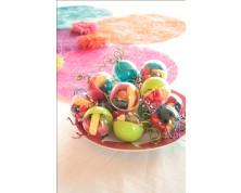 Sfere Portaconfetti in plastica  (Colori Assortiti)