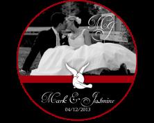 Tag / Adesivi Personalizzati con fotografia (Wedding)