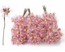 Fiorellino chiudi pacco con veletta (set da 144 pz)