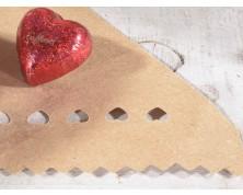 Coni portariso/portaconfetti in carta kraft (Confezione da 50 pz)