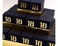 Torta Portaconfetti 18 anni Nero/Oro