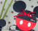 Scatola portaconfetti Minnie e Topolino Rossa e Nera