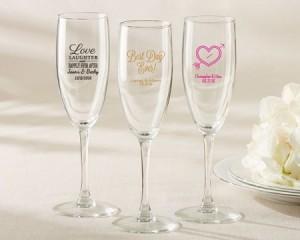 Flute da champagne personalizzati